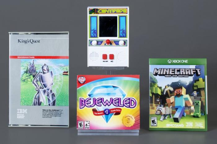 This photo provided the World Video Game Hall of Fame, Thursday, June 18, 2020, shows the organization's newest inductees