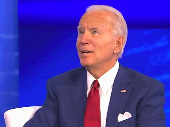Joe Biden at the ABC News Town Hall, Oct. 15
