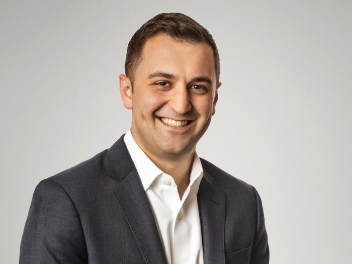This photo provided by Lyft shows Lyft's president John Zimmer