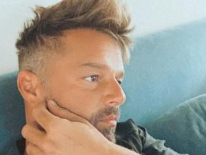 PopUps: Ricky Martin Turns Heads After Bleaching Beard Blond