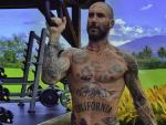 Watch: Adam Levine Sends Out Daddy Vibes with Workout Pics
